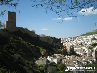 Castillo de Cazorla - Parque Natural de Cazorla; charca verde pedriza